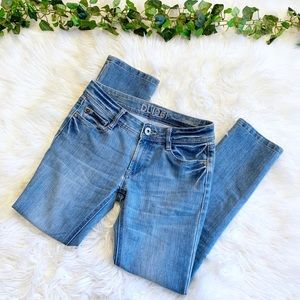 DL1961 Toni High Waisted Cropped Skinny Jeans